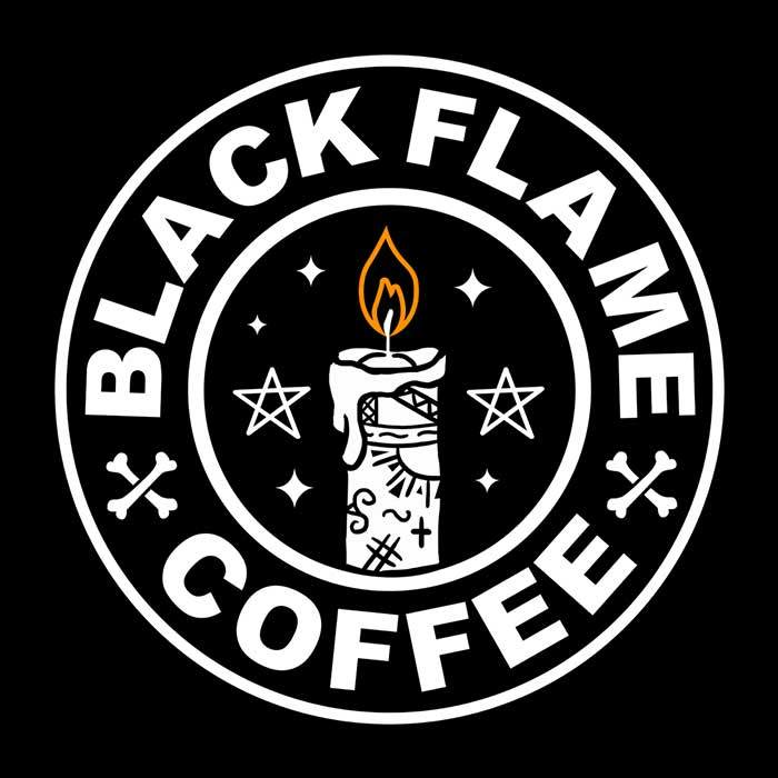 Once Upon a Tee: Black Flame Coffee