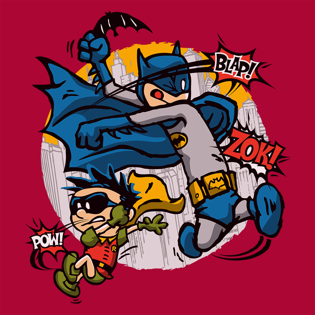 Pop-Up Tee: Dick And Bruce