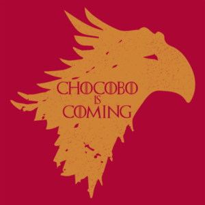 Pop-Up Tee: Chocobo is Coming