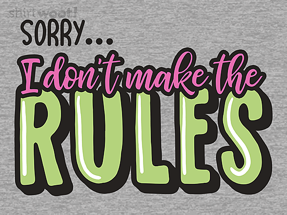 Woot!: Rules