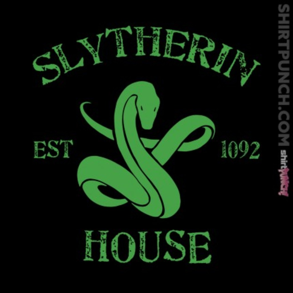 ShirtPunch: House Slytherin