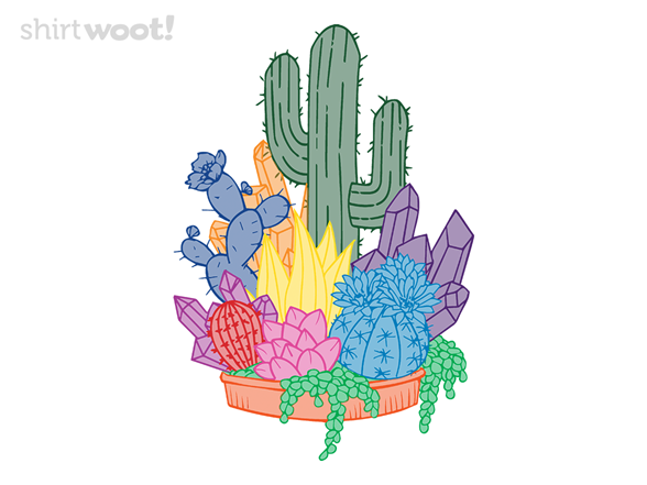Woot!: Crystal Cactus - $15.00 + Free shipping