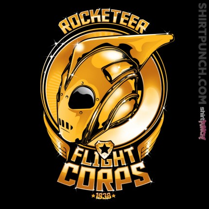 ShirtPunch: Rocketeer Flight Corps