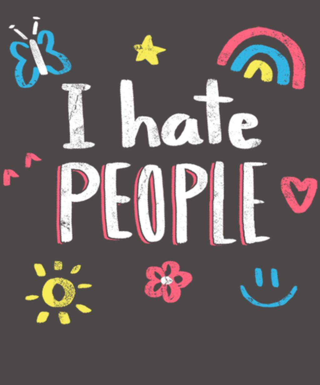 Qwertee: I hate people