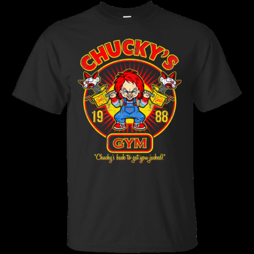 Pop-Up Tee: Chucky Gym Tee Good Guy