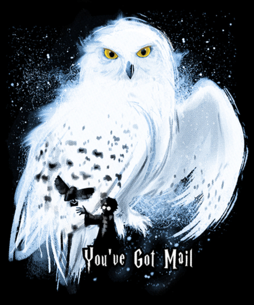 Qwertee: Mail by Owl