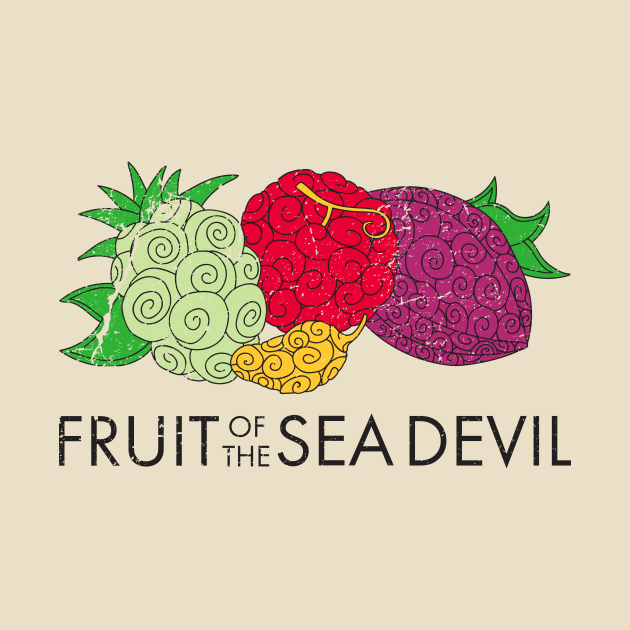 TeePublic: fruit of the sea devil