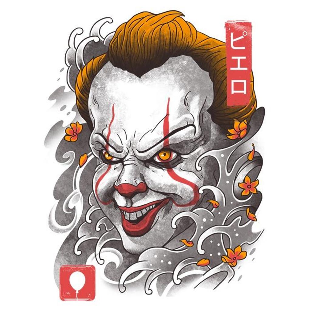 Once Upon a Tee: Oni Clown Mask