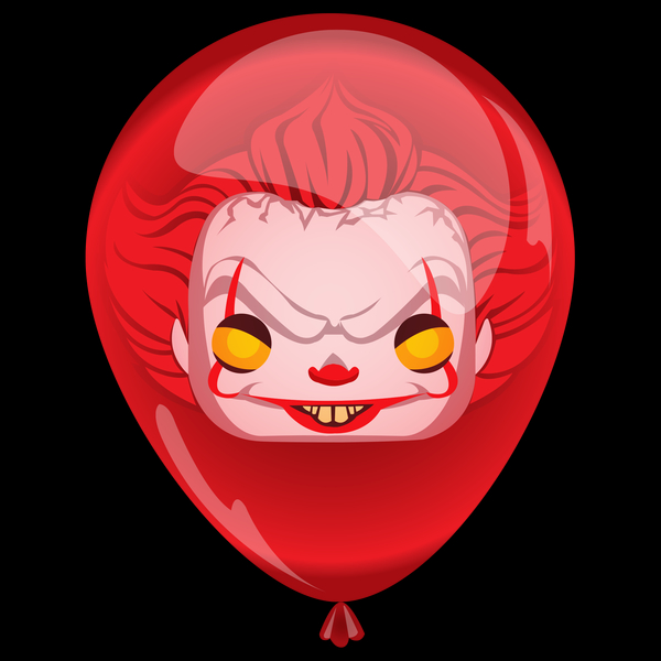 NeatoShop: Pennywise- Red Balloon