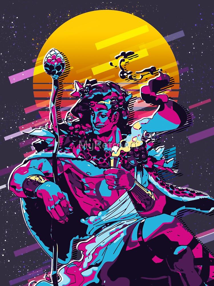 RedBubble: Dionysus - Hades game (80s Retro)