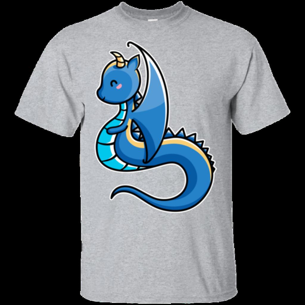 Pop-Up Tee: Kawaii Cute Dragon