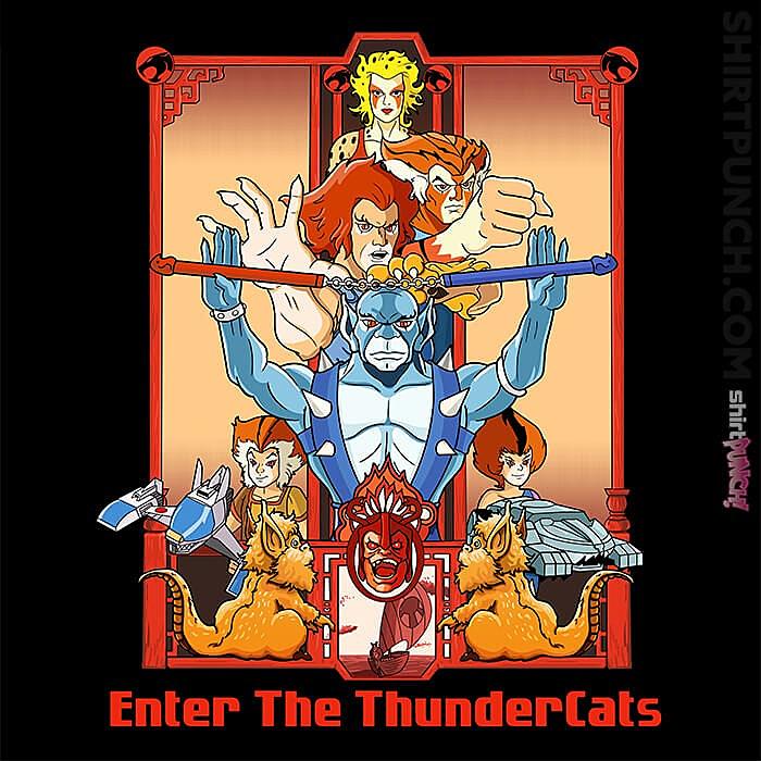 ShirtPunch: Enter The Thundercats