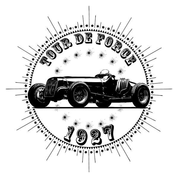 NeatoShop: Vintage Classic Car 1927 Tour De Force Delage