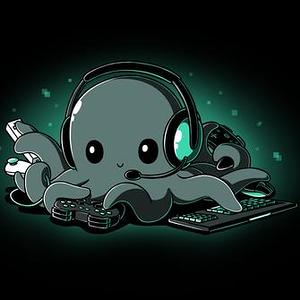 TeeTurtle: Pew Pew Octopus
