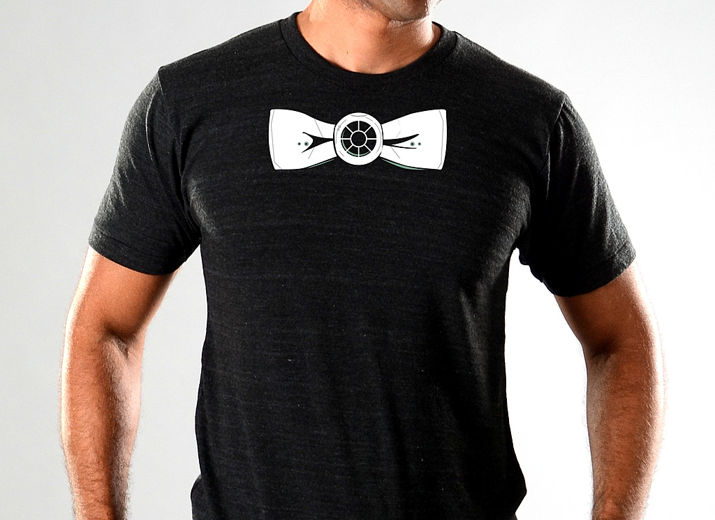 SnorgTees: Bow Tie Fighter Limited Edition Tri-Blend