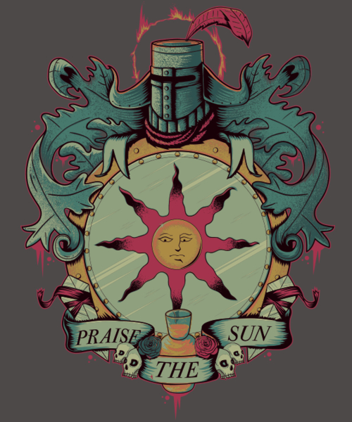 Qwertee: Crest of the Sun