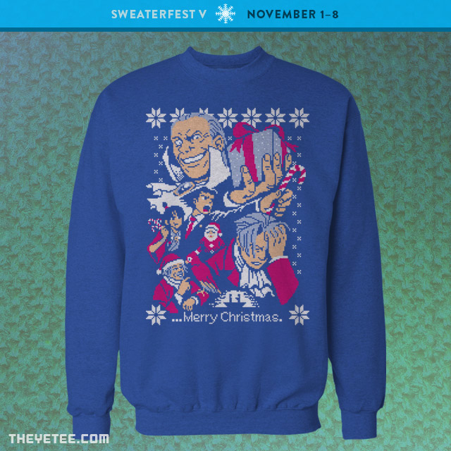 The Yetee: Turnabout Christmas
