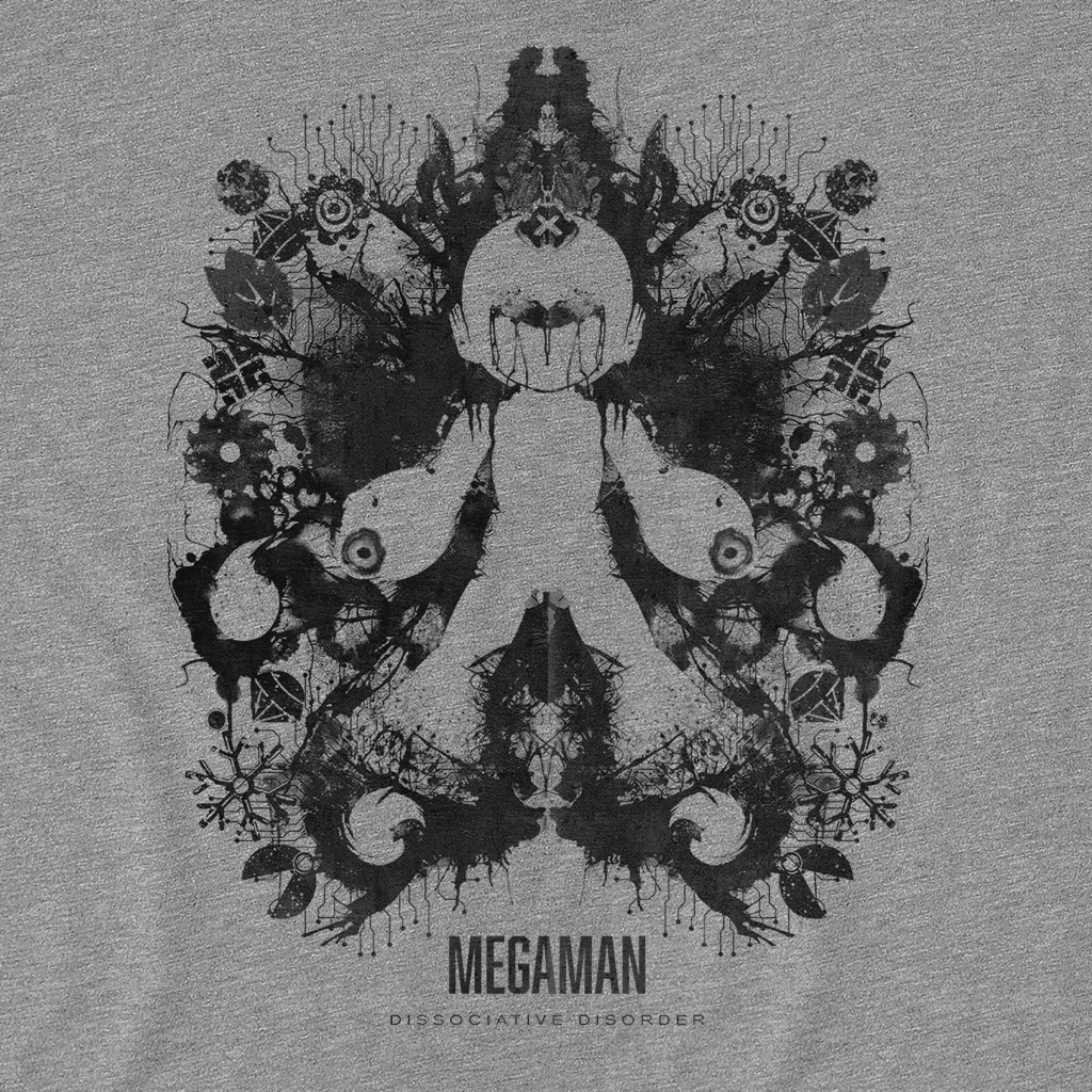 Pop-Up Tee: Megaman Ink Blot