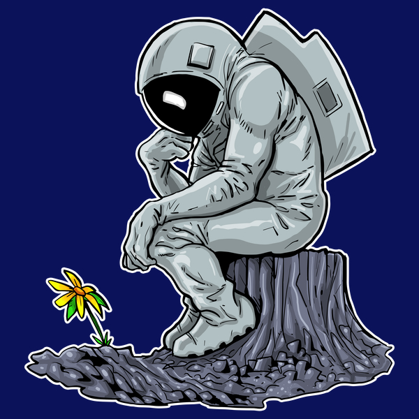 NeatoShop: Astronaut - Thinking Man