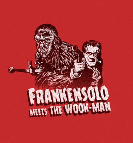 BustedTees: Frankensolo Meets the Wook Man