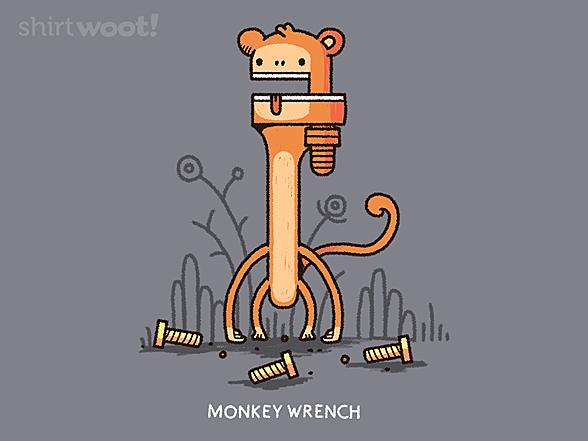 Woot!: Monkey Wrench