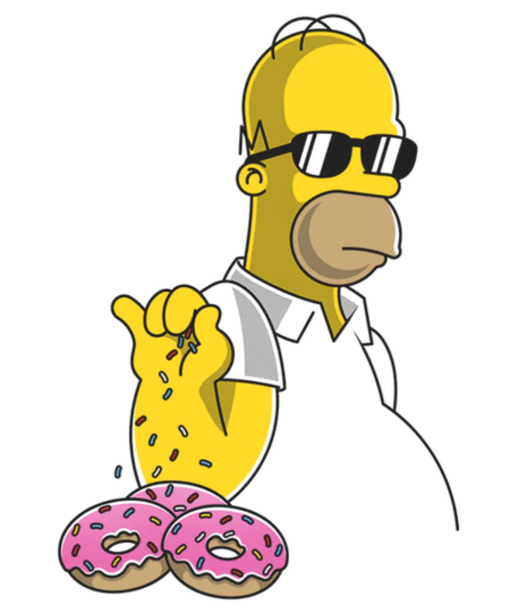 Qwertee: Homer Sprinkle Bae