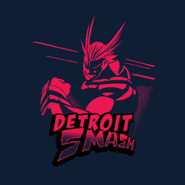 NeatoShop: All Might Detroit Smash (Red)