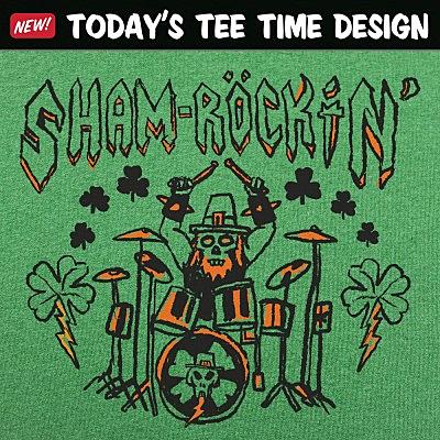 6 Dollar Shirts: Sham-Rockin'