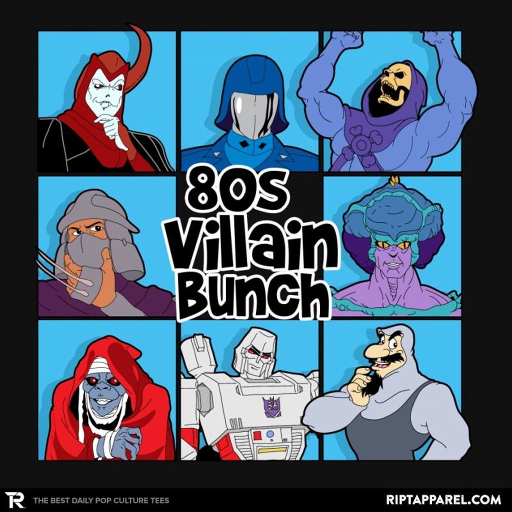 Ript: 80s Villain Bunch