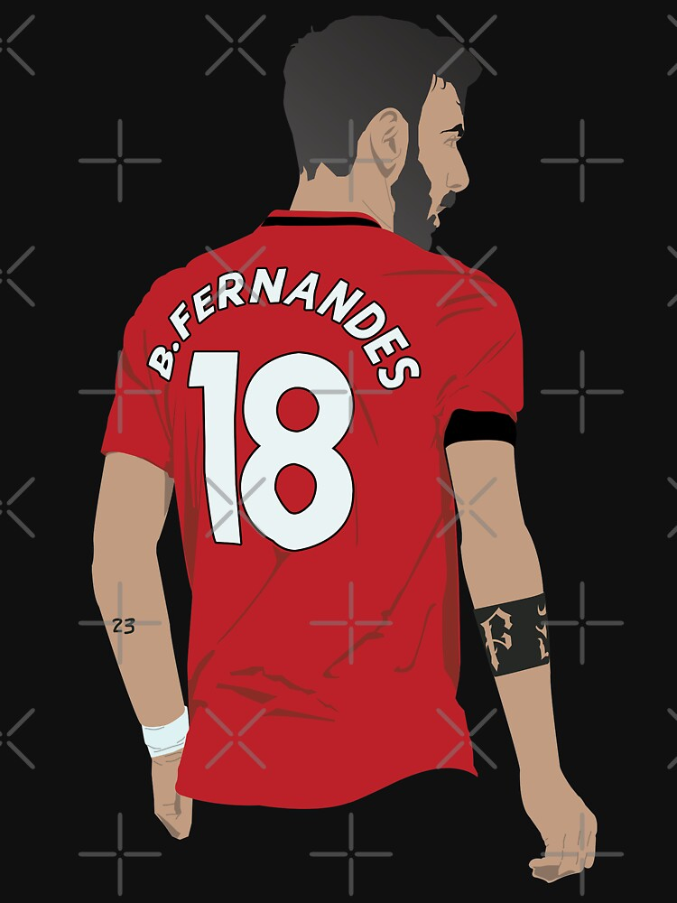 RedBubble: Bruno Fernandes MUFC