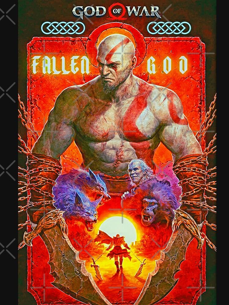 RedBubble: God Of War Fallen God Kratos