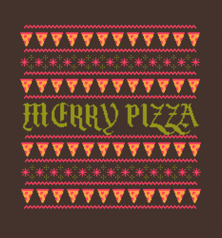 BustedTees: Merry Pizza