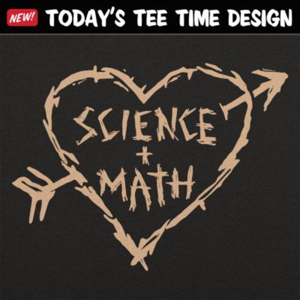 6 Dollar Shirts: Science Loves Math