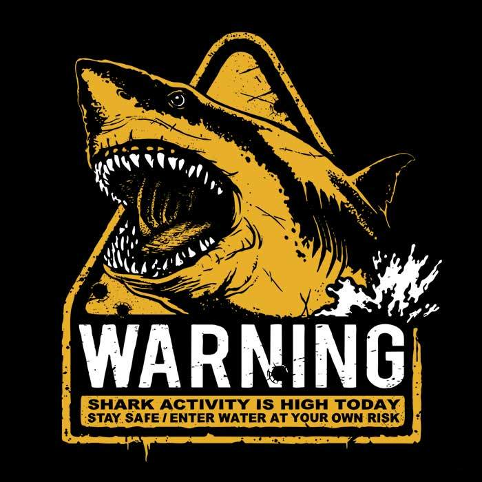 Once Upon a Tee: Warning: Maneater