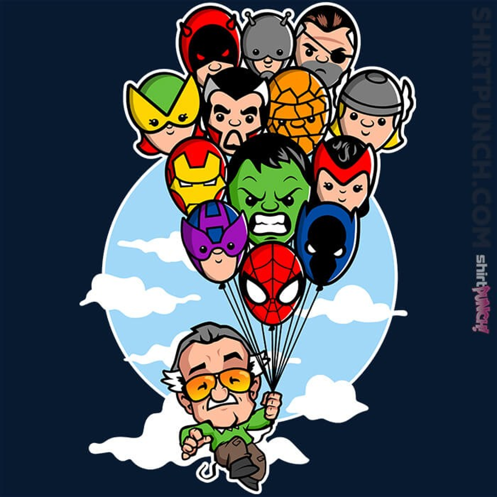 ShirtPunch: Excelsior!