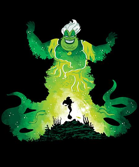 Qwertee: Ursula's Spell
