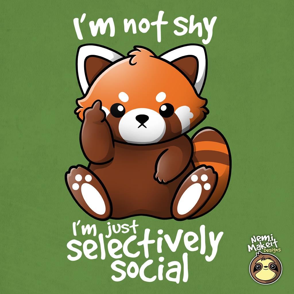 TeeTee: Shy red panda