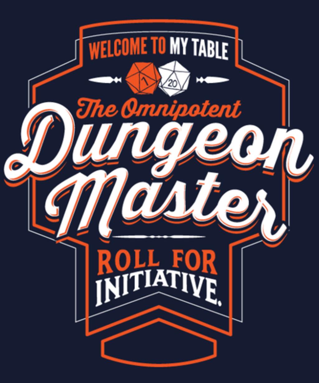 Qwertee: Dungeon Master