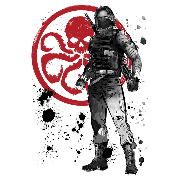 NeatoShop: Winter Soldier sumi-e