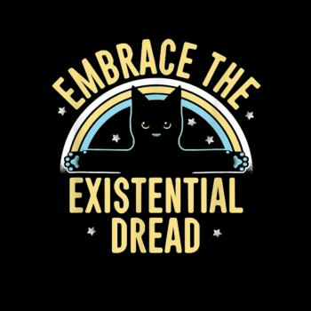 BustedTees: Existential Dread Cat