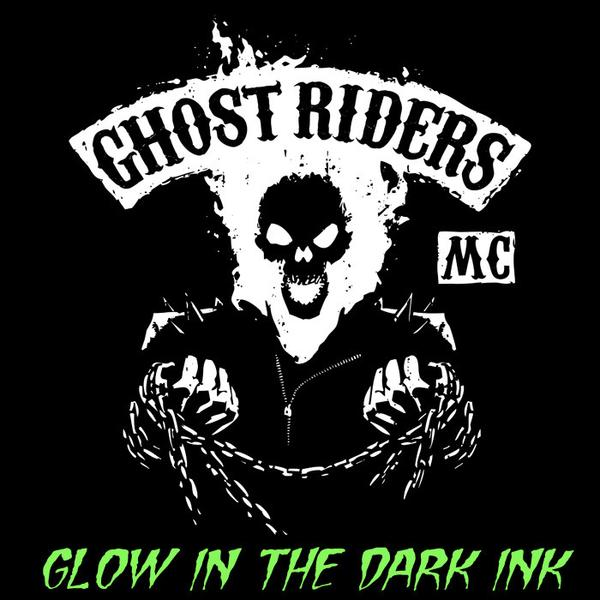 Tee11: Ghost Riders MC – Glow In The Dark