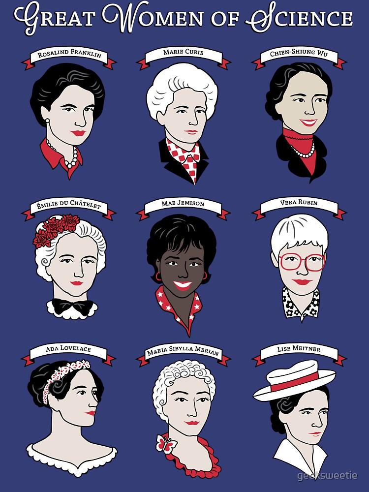 RedBubble: Great Women of Science {Set}