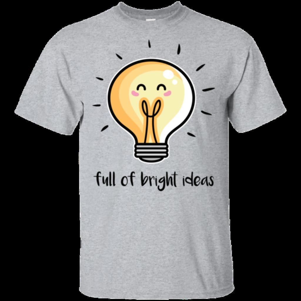 Pop-Up Tee: Full of Bright Ideas