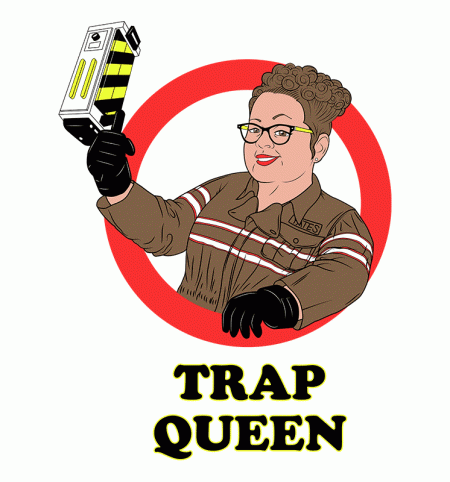 BustedTees: Trap Queen