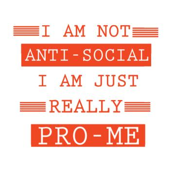 BustedTees: Anti Social Pro Me