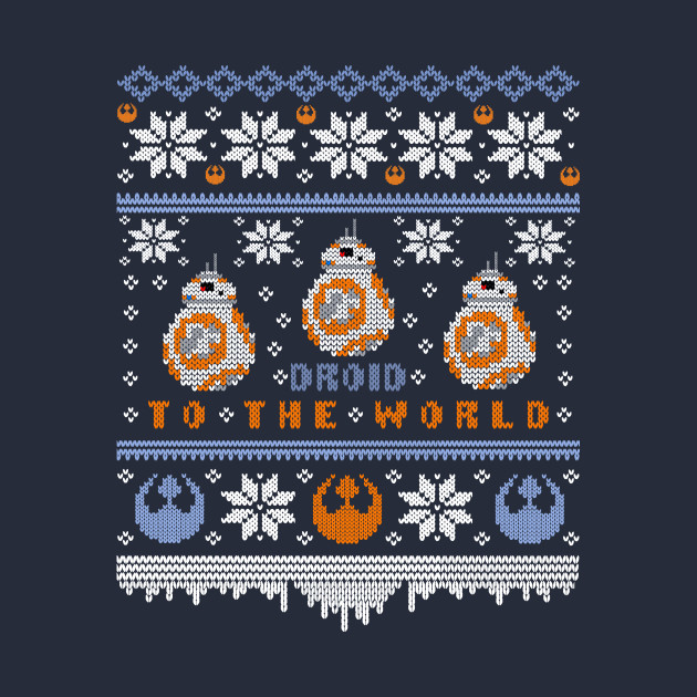 TeePublic: Droid to the World - BB-8