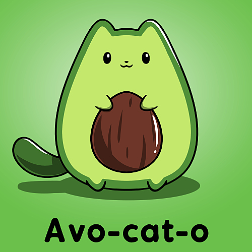 TeeTurtle: Avo-cat-o