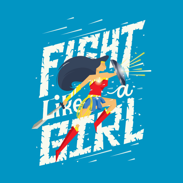 TeePublic: Fight like a girl