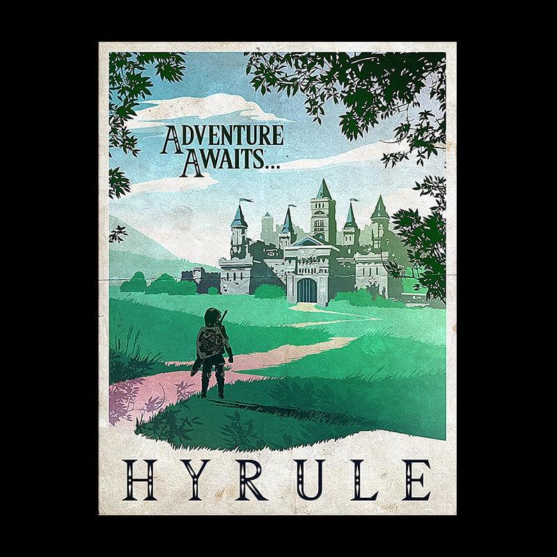 ShirtPunch: Visit Hyrule