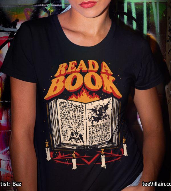 teeVillain: Read a Book